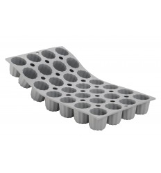 ELASTOMOULE 28 MINI CANELE BORDELAIS DE BUYER
