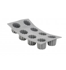 ELASTOMOULE 8 PORTION CANELE BORDELAIS DE BUYER