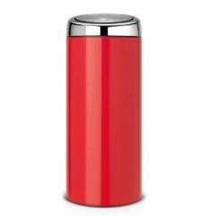 TOUCH BIN 30 LITRES - PASSION RED